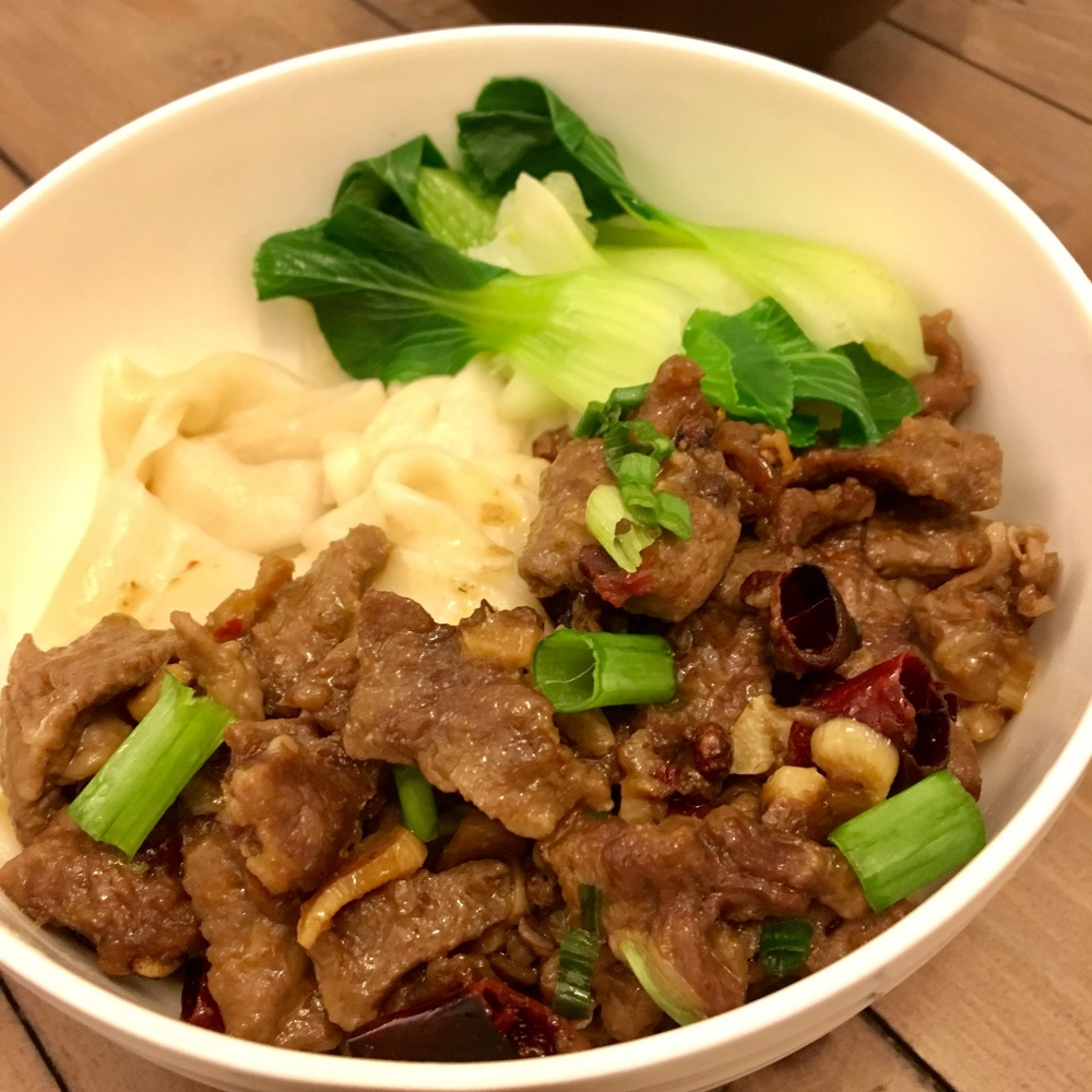 Spicy Beef Hand-pulled Noodles